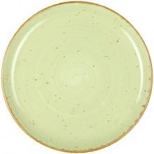 Continental Continental Rustics - Green Coupe Plate 19 cm Тарелка мелкая 19 см, зеленая