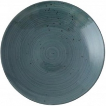 Continental Continental Rustics - Blue Coupe Bowl 25 cm Таелка глубокая 25 см, синяя