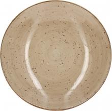 Continental Continental Rustics - EarthBrown Coupe Bowl 25 cm Тарелка глубока 25 см, коричневая