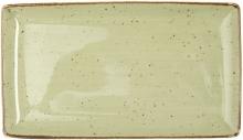 Continental Continental Rustics - Green Rectangular platter 28,5*16,5 cm Тарелка прямоуг 28,5х16,5 см, зеленая