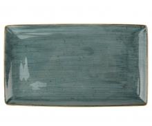 Continental Continental Rustics - Blue Rectangular platter 28,5*16,5 cm Тарелка прямоугольная 28,5х16,5 см, синя