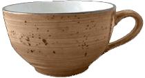 Continental Continental Rustics - EarthBrown Cappuccino Cup  0,30 l Чашка 300 мл, коричневая