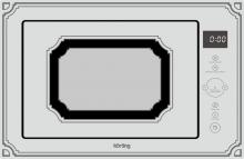 Korting Korting KMI 825 RGW Встраиваемая микроволновая печь