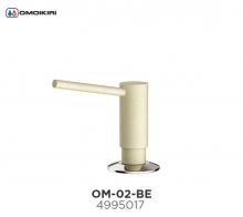 Omoikiri Omoikiri OM-02-BE латунь/ваниль Дозатор для моющего средства