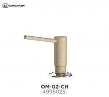 Omoikiri Omoikiri OM-02-CH латунь/шампань Дозатор для моющего средства