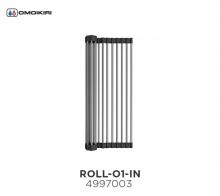Omoikiri Omoikiri Ролл-мат для мойки с силиконом ROLL-01-IN нерж. сталь/черный Аксессуар