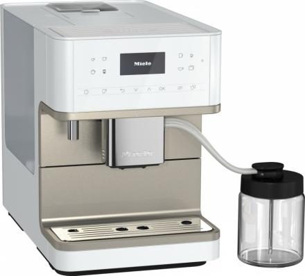 Кофемашина Miele CM6360 белый металлик LOCM