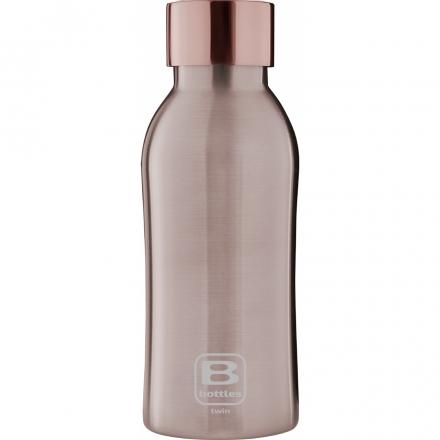 Bugatti Бутылка для воды Bottle TWIN rose gold brushed BBT-RS350RL