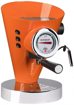 Кофемашина Bugatti DIVA Orange (Эспрессо)