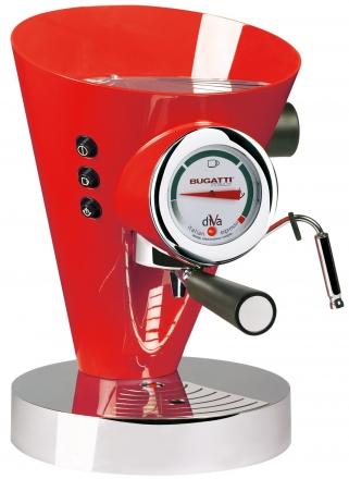 Кофемашина Bugatti DIVA Red (Эспрессо)