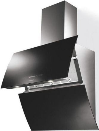 Вытяжка Faber MIRROR BK BRS X/V A90 LOGIC Black