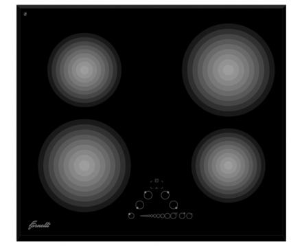 Варочная поверхность Fornelli PI 60 MAGNETE Black