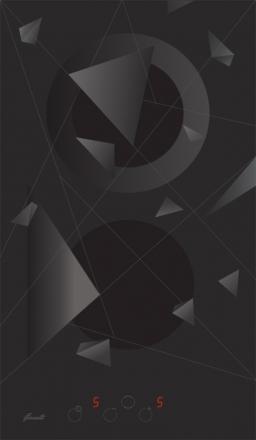 Варочная поверхность Fornelli PV 3012 FRESCO Black
