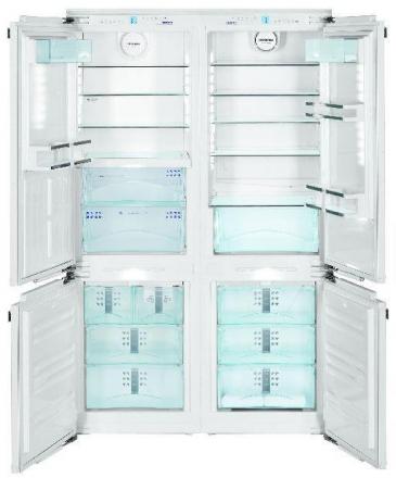 Холодильник Liebherr SBS 66I3 White