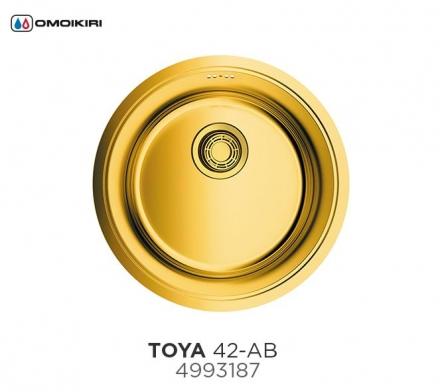Мойка Omoikiri Toya 42-АB