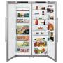 Холодильник Liebherr SBSesf 7212 Stainless Steel